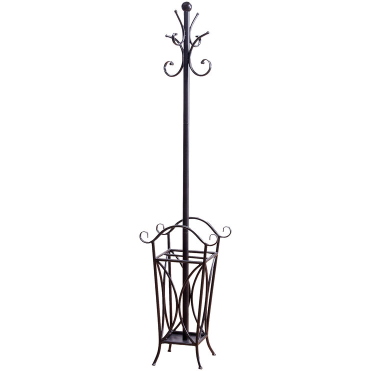 Lexington Bronze Metal Coat Rack