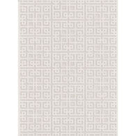 Intersected Geo NaturalOff White Runner