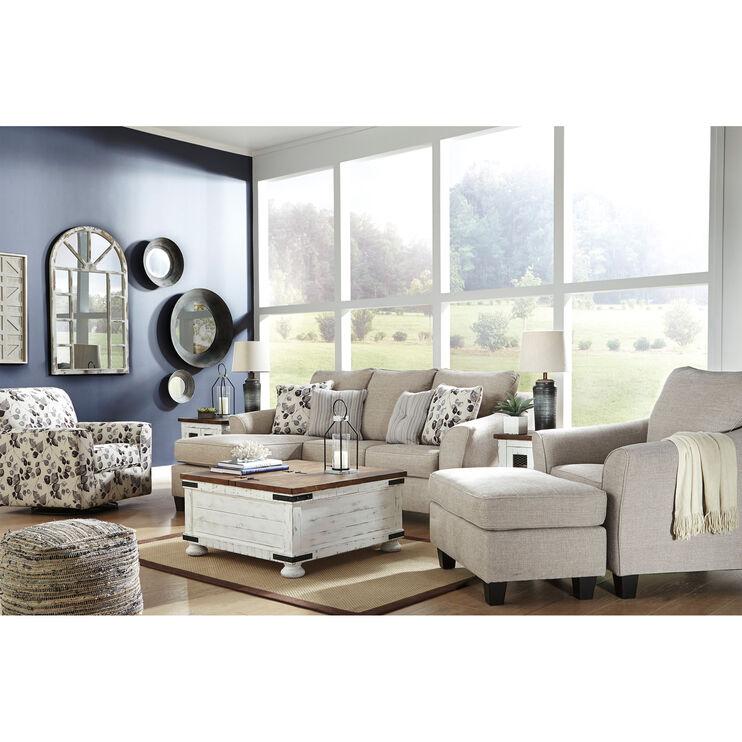 Admirable Cyprus Driftwood Sofa Chaise Slumberland Furniture Camellatalisay Diy Chair Ideas Camellatalisaycom