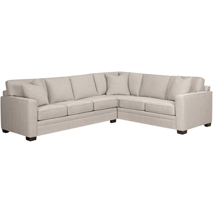 Slumberland Furniture   Banks Feather 2 Piece Sectional