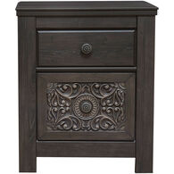 Paxberry 2 Drawer Nightstand