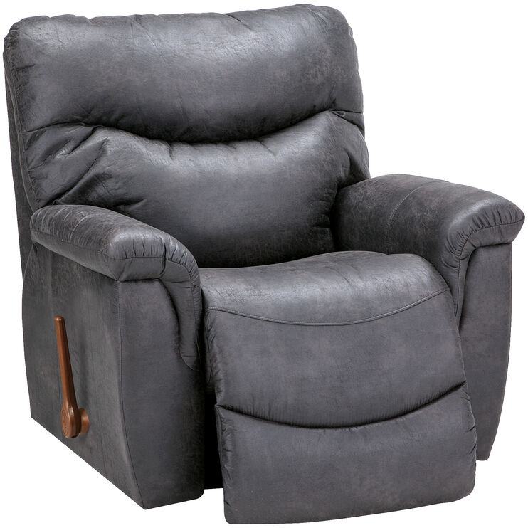 Slumberland Furniture La Z Boy James Steel Rocker Recliner