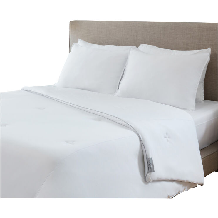 SHEEX AeroFit White Queen Performance Down Alternative Comforter