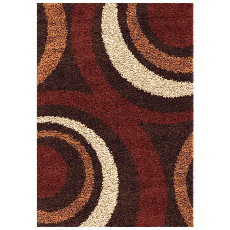 Impressions Ring of Fire 8 x 11 Rug