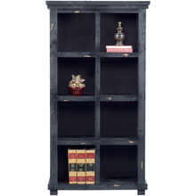 Willow 64in Black Bookcase