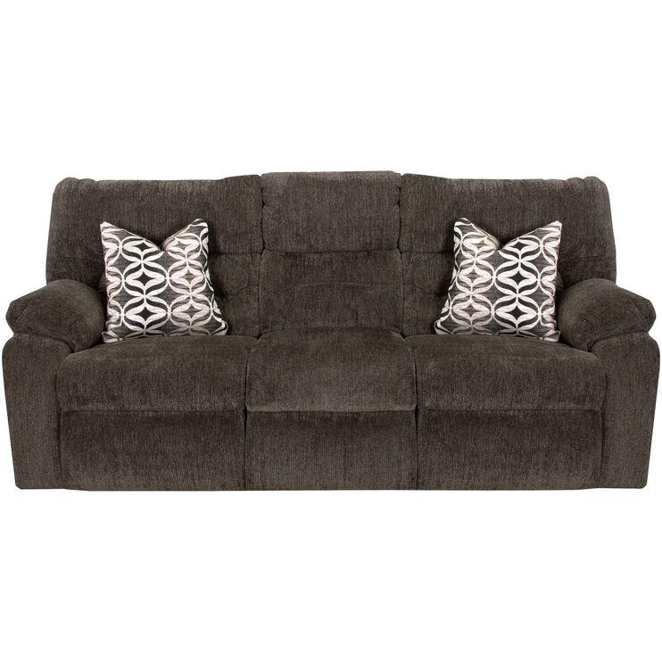 Nome Gray Power+ Reclining Sofa