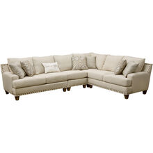 Trenton 4Pc Linen Sectional