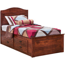 Barchan Twin Panel Captains Bed