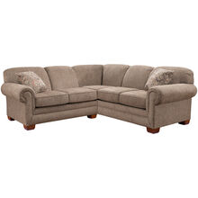 Tenor Brown 2 Piece Small Sectional
