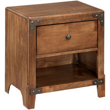 Delburne Brown Nightstand