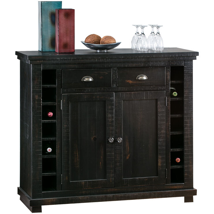 Willow Distressed Black Server