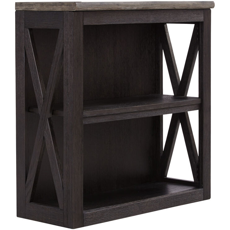 Tyler Creek Black Small Bookcase