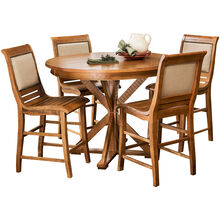Willow Pine Round Counter Set