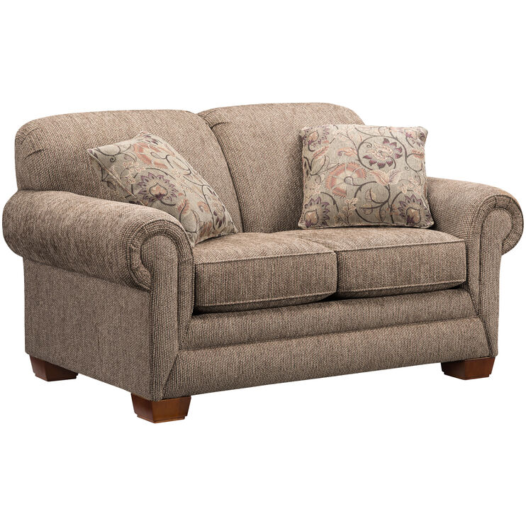 Tenor Brown Loveseat