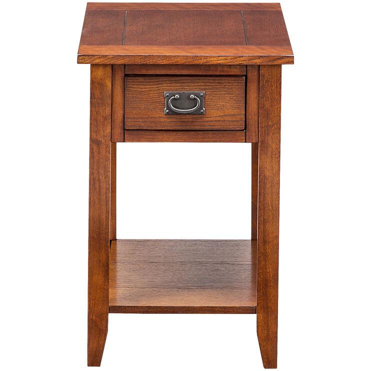 Rutledge Mission Oak Chairside Table