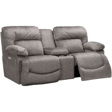 Asher Sable Power Reclining Console Loveseat