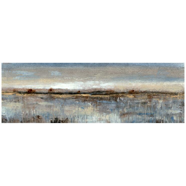 Gray Mist II Canvas Art