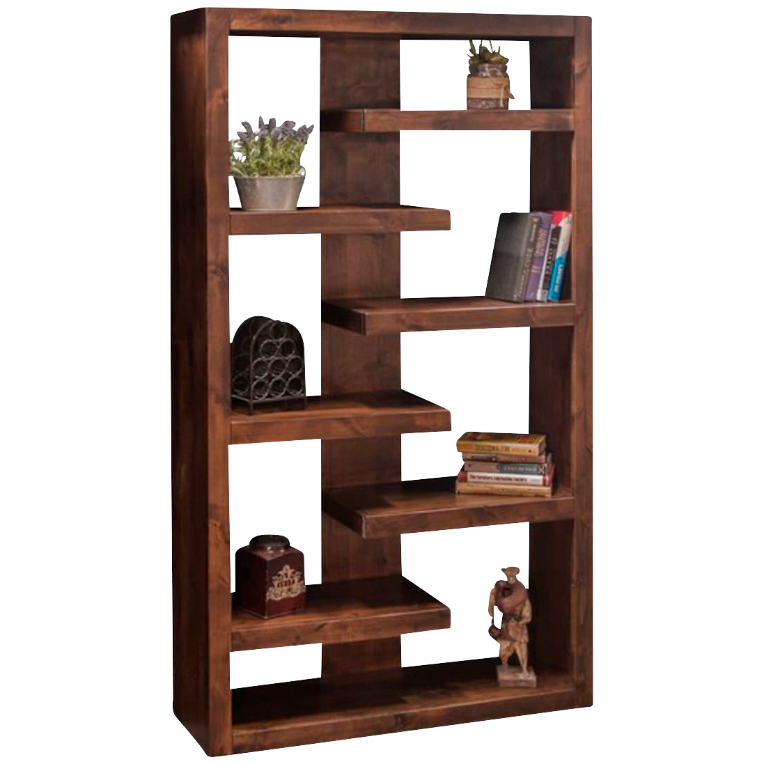 """""""Legends   Sausalito Whiskey 72"""""""" Bookcase"""""""