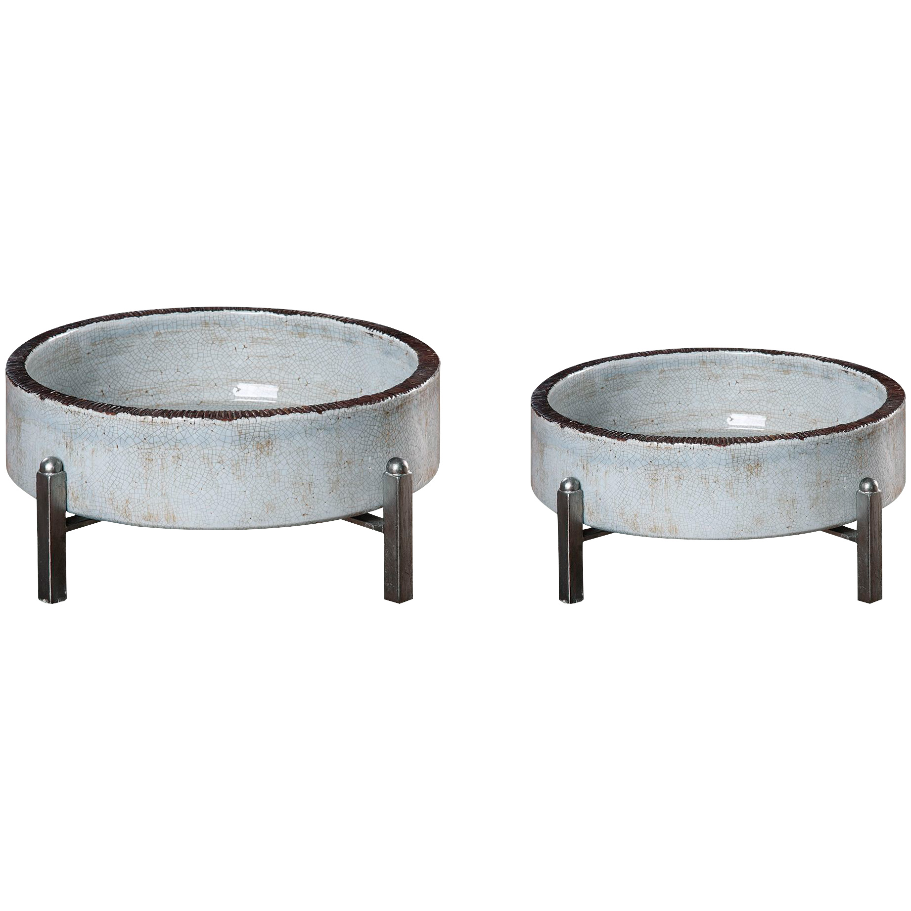 Uttermost | Essie Set of 2 Gray Bowls