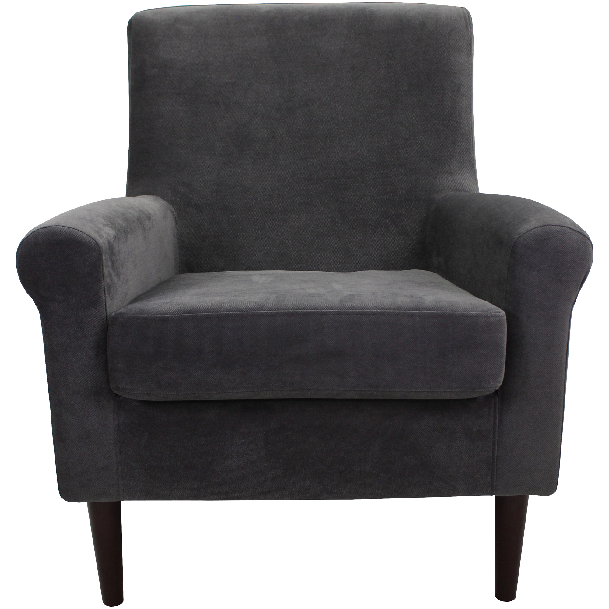 Overman | Ellis Dark Gray Accent Chair