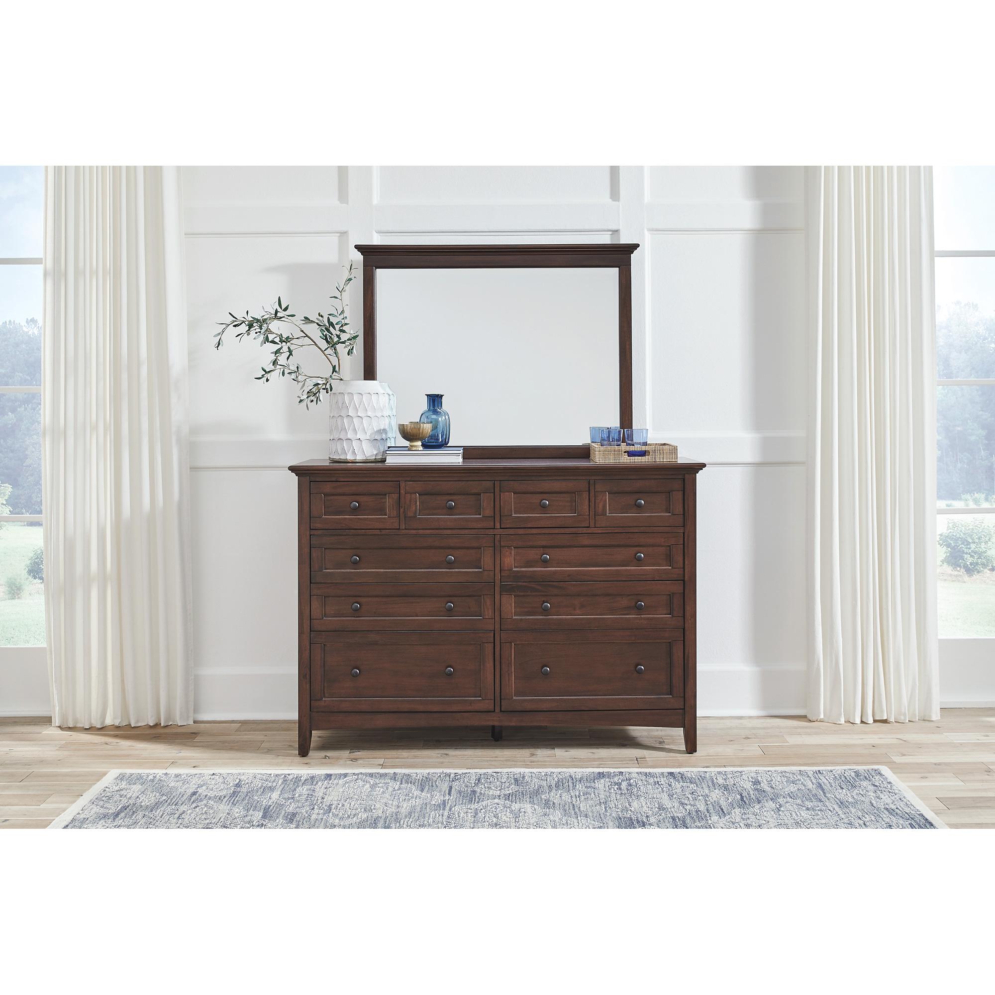 A America | Westlake Cherry Brown Dresser