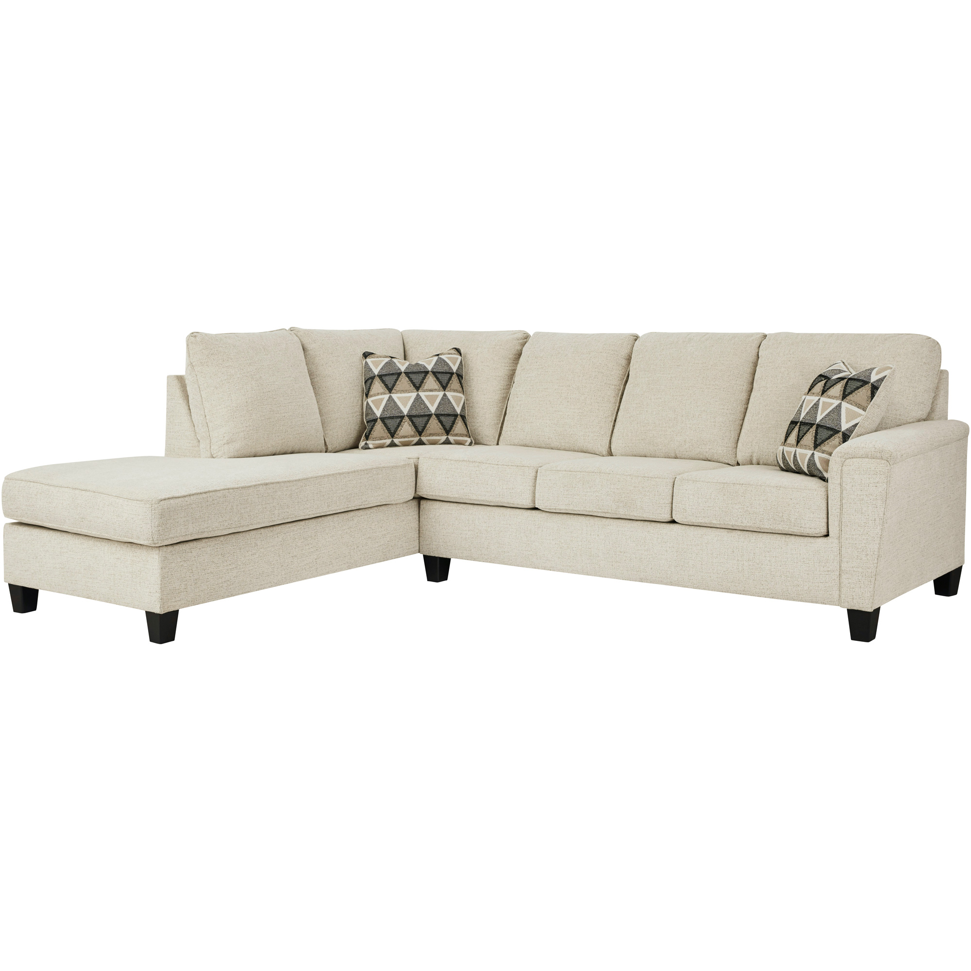 Ashley Furniture | Abinger Natural Left Chaise Sectional Sofa