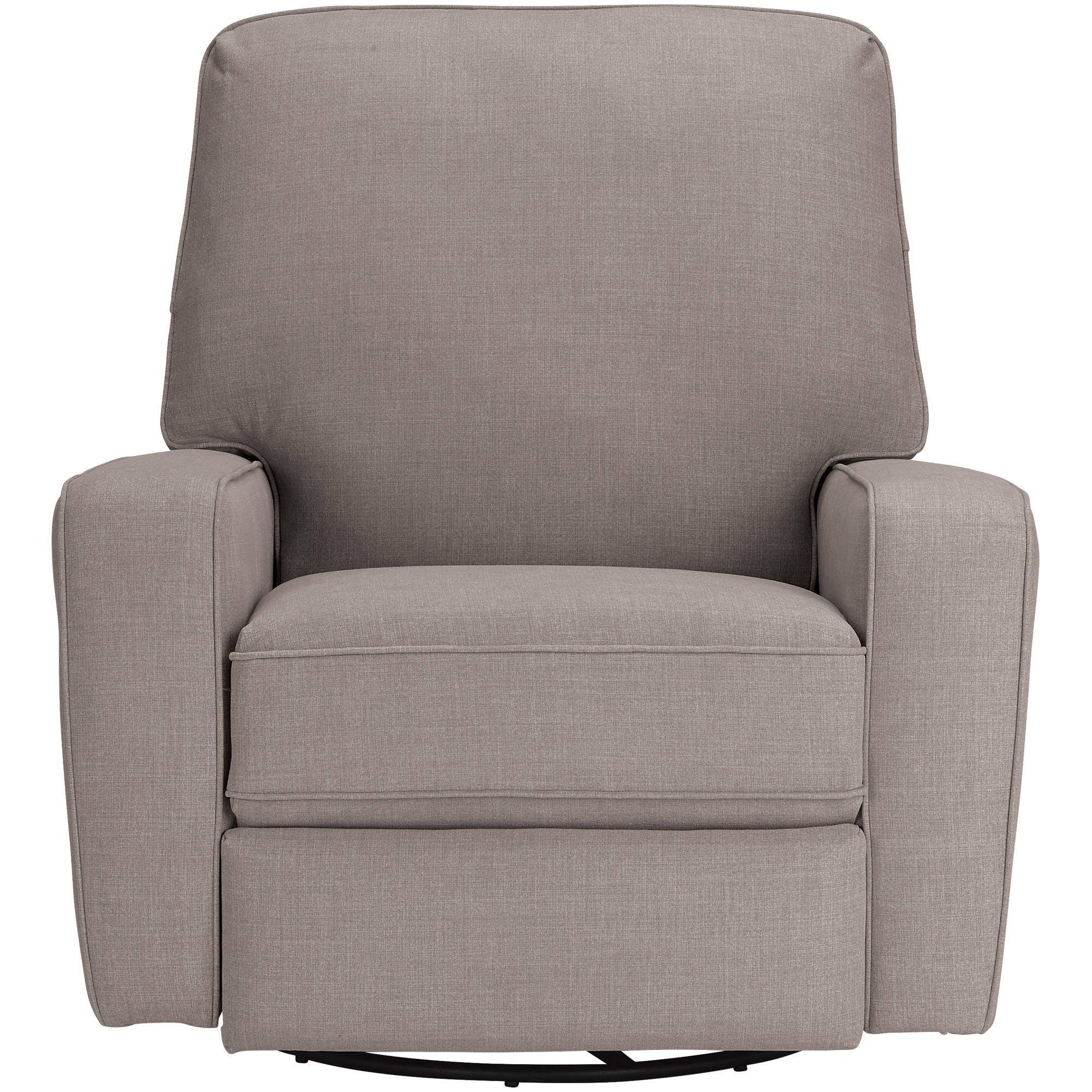 Best Home Furnishings | Bilana Smoke Swivel Glide Recliner Chair