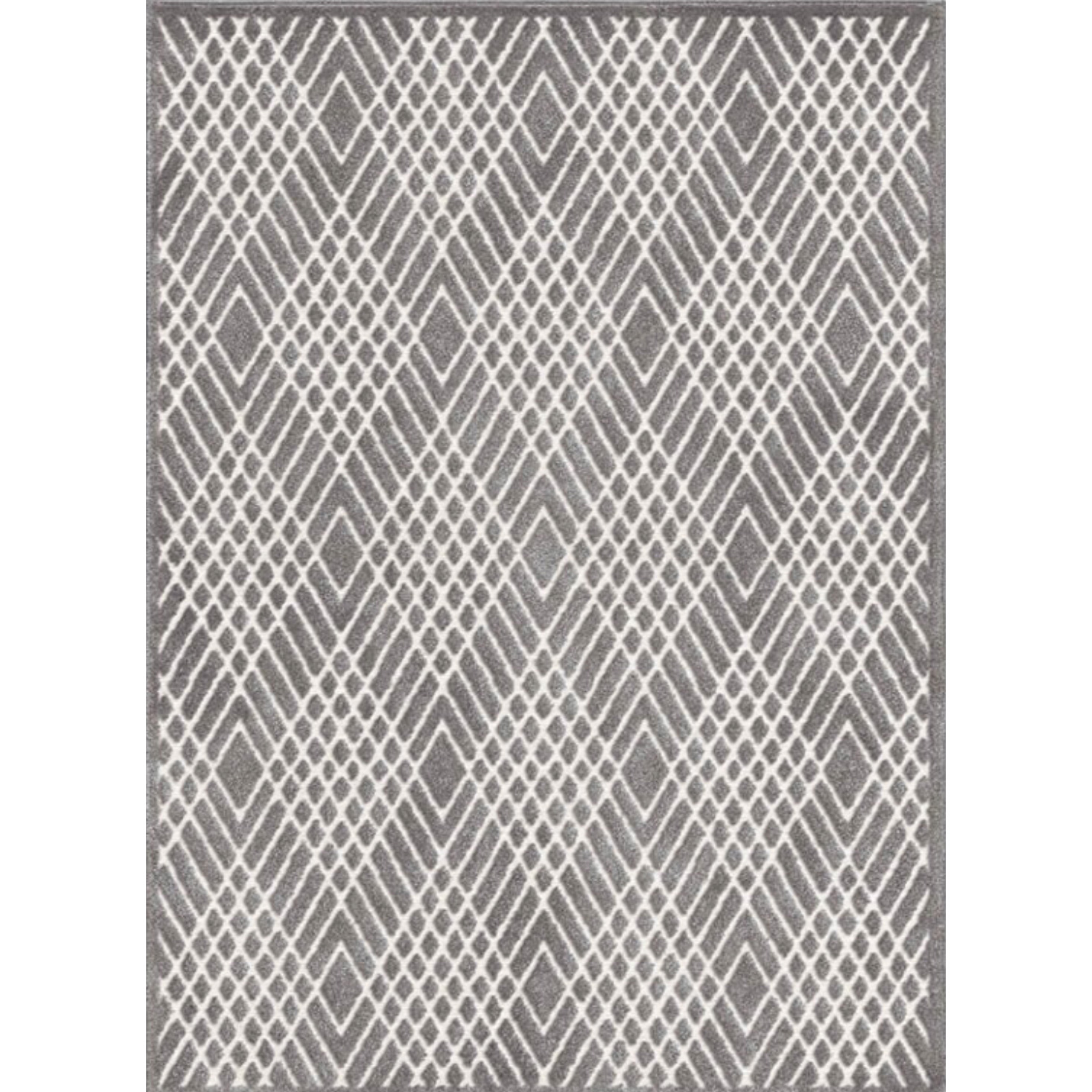 Palmetto Living By Orian | Ravinia Silverstone Natural Gray 8x11 Area Rug