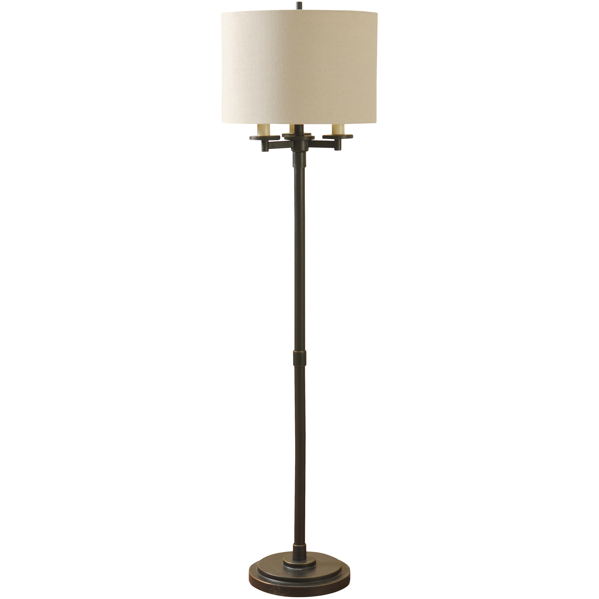 Stylecraft Home Collection | Atwater Bronze Floor Lamp