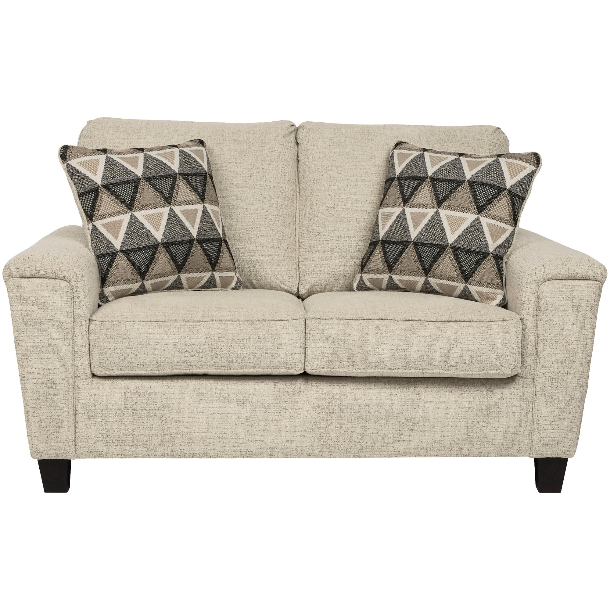 Ashley Furniture | Abinger Natural Loveseat Sofa