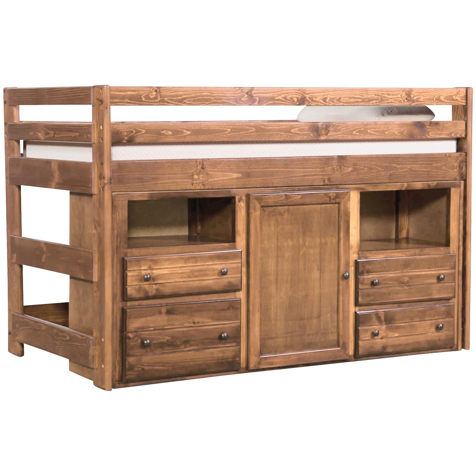 Trendwood Inc. | Bayview Buckskin Loft Bed with Super Dresser