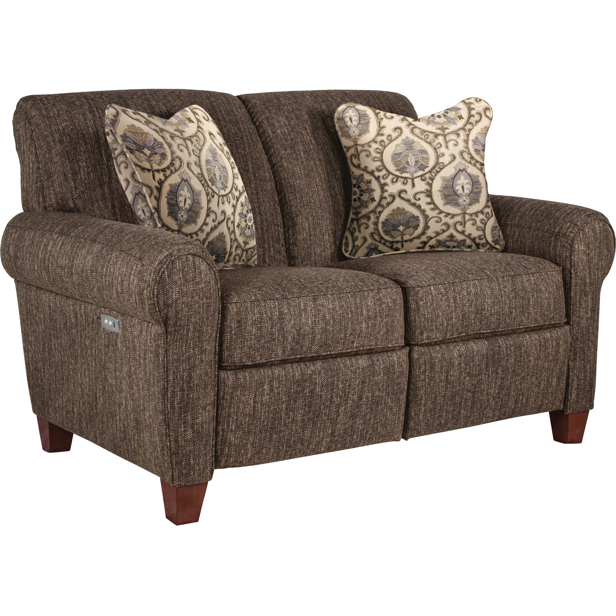 La-Z-Boy | Bennett Mocha Reclining Loveseat Sofa
