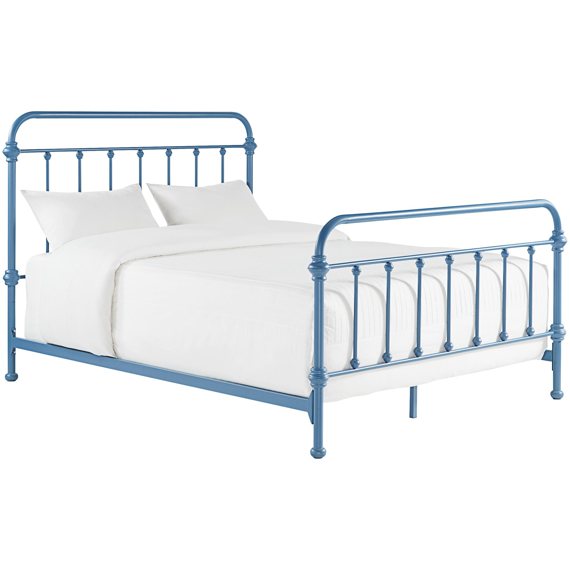 Home Elegance | Laguna Blue King Metal Bed