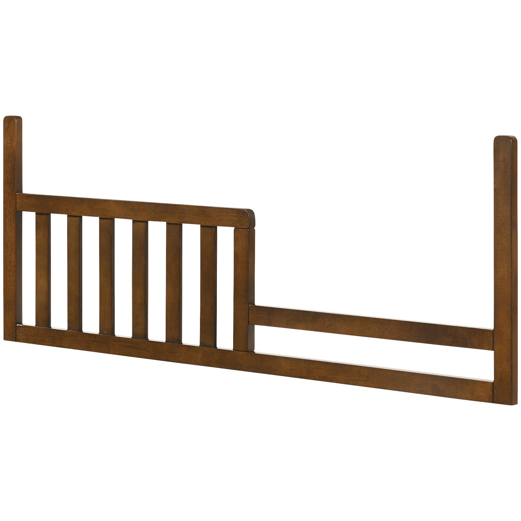 Westwood Design | San Mateo Brown Toddler Bed Conversion Kit