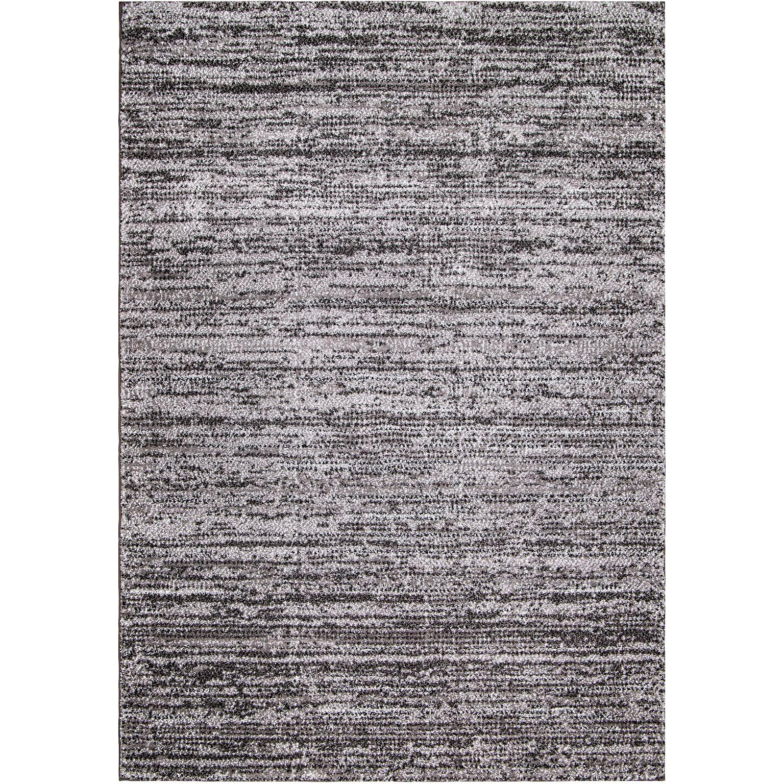 Orian | Cloud 19 Zula Pewter 5x8 Area Rug | Grey