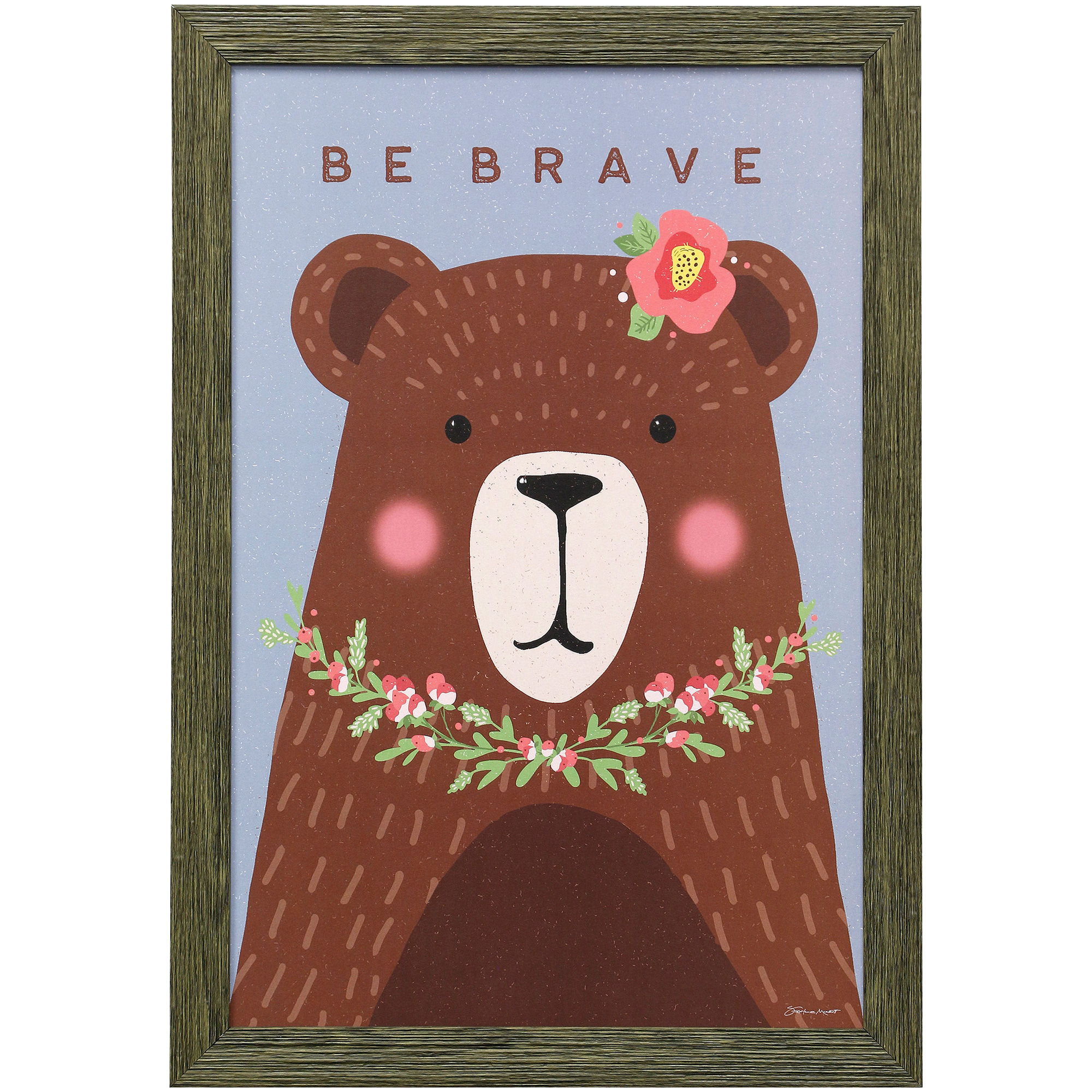 Stylecraft Home Collection | Brave Bear Framed Art