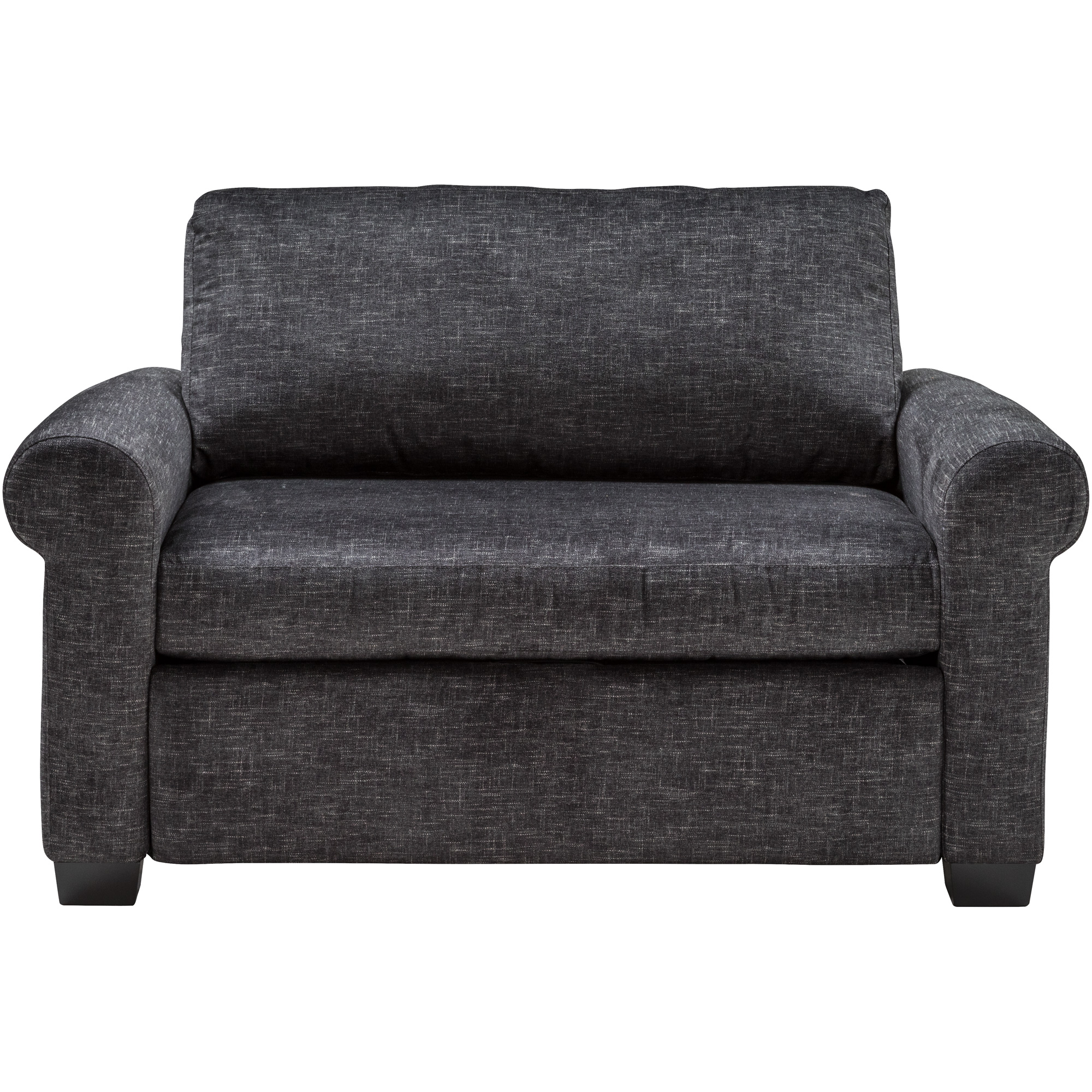 American Leather | Cortland Alton Charcoal Twin Sleeper Sofa