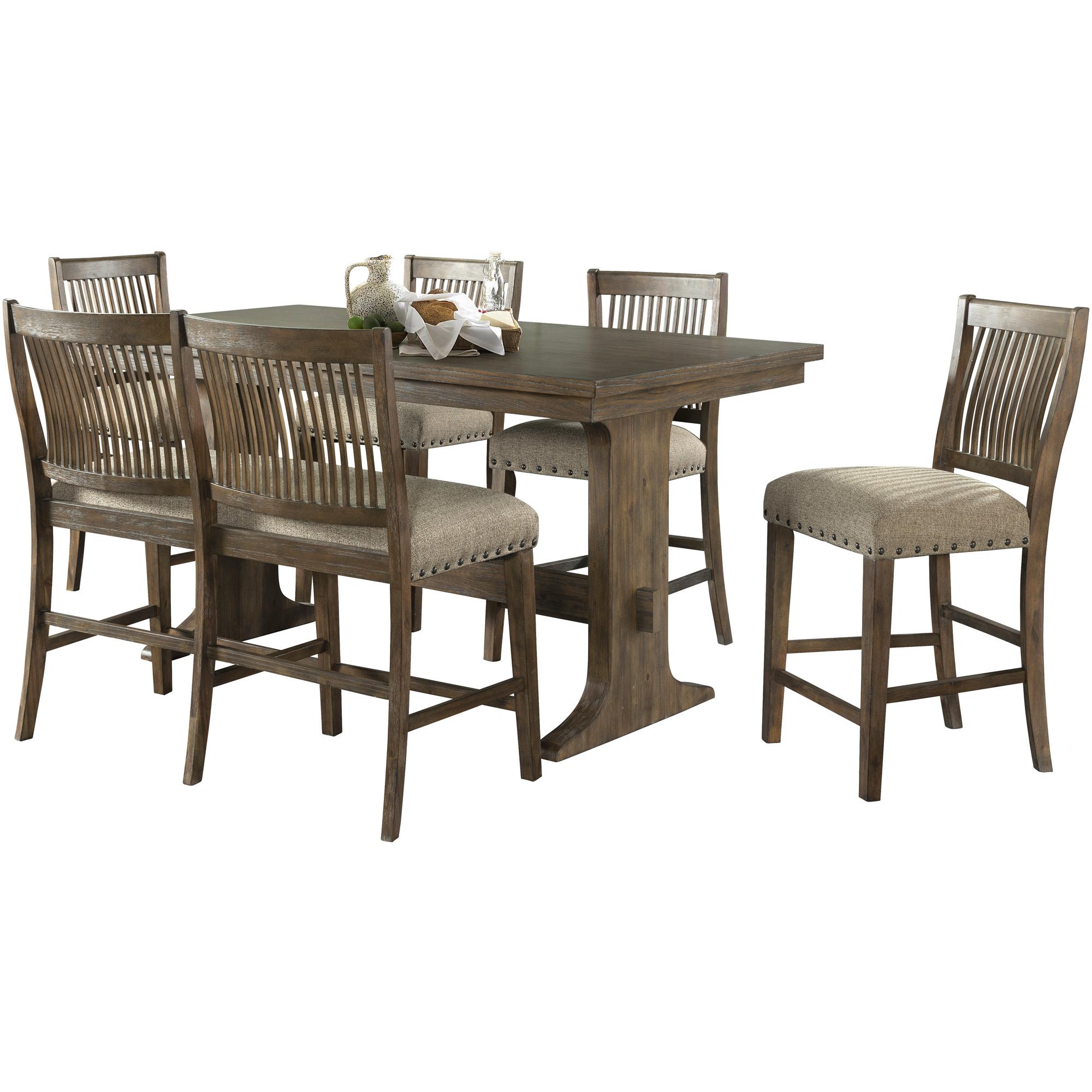 Lane Home Furnishings | Charleston Barley Oak 5 Piece Dining Set