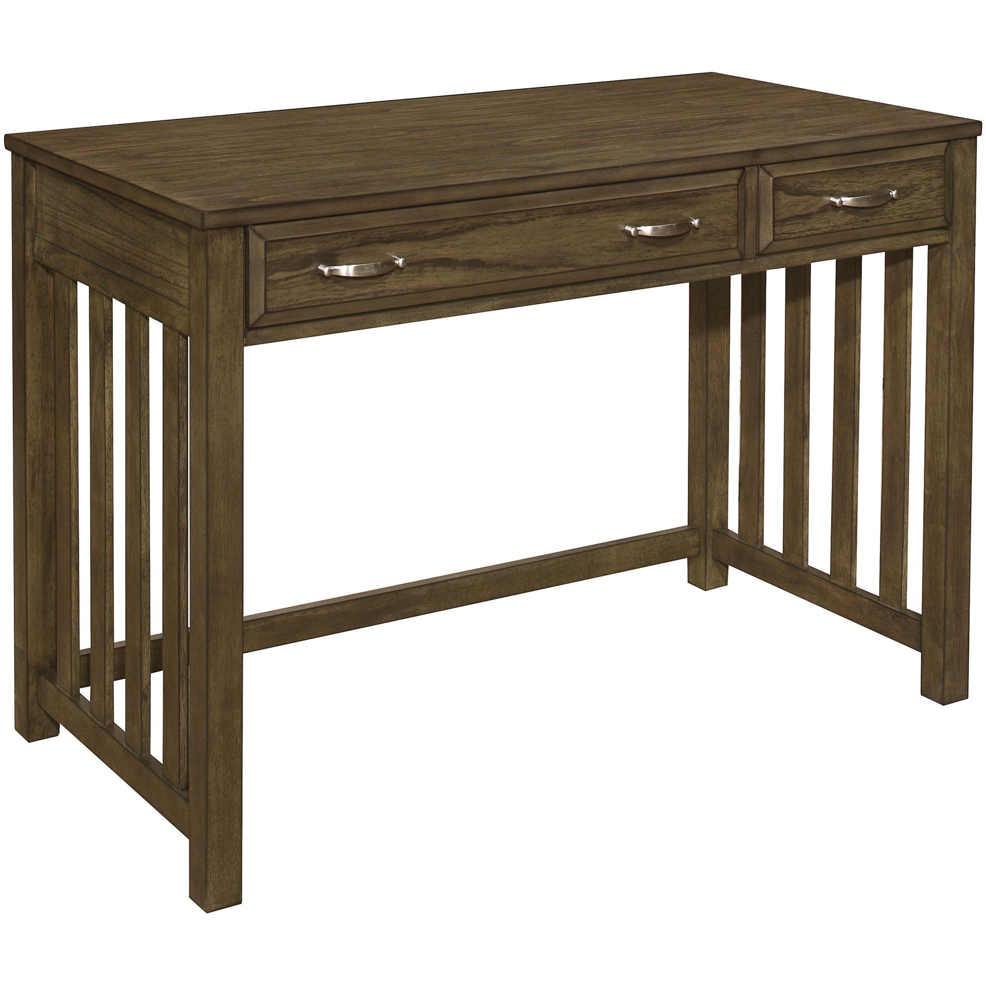 Top Line | Blanche Brown 2 Drawer Desk