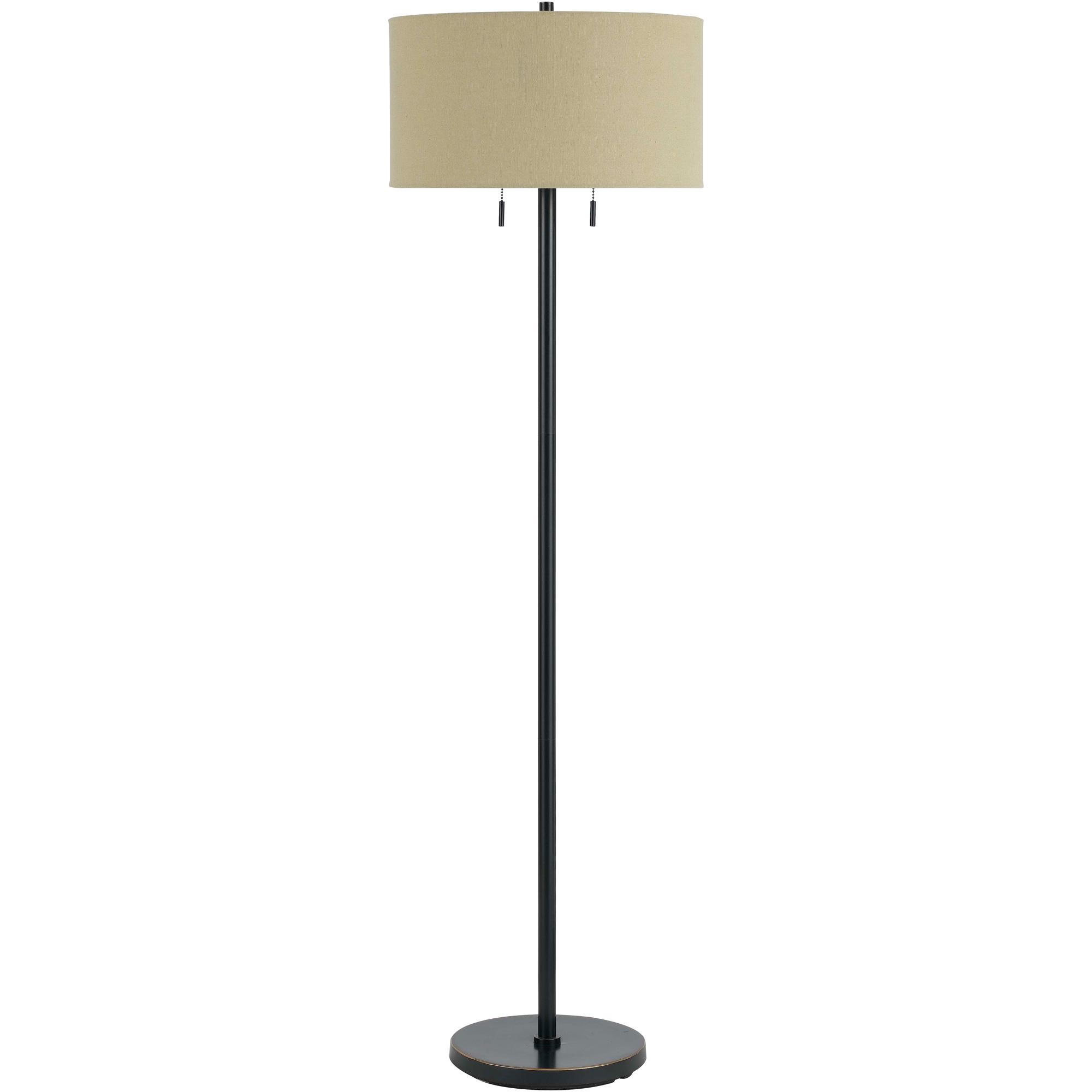 Cal Lighting | Calais Brown Floor Lamp