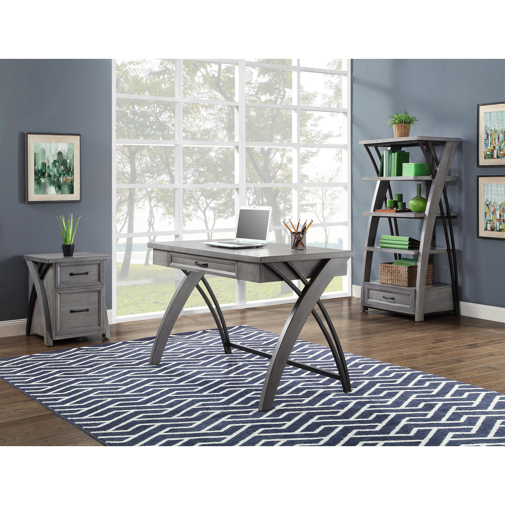 Whalen   Axon Gray Desk