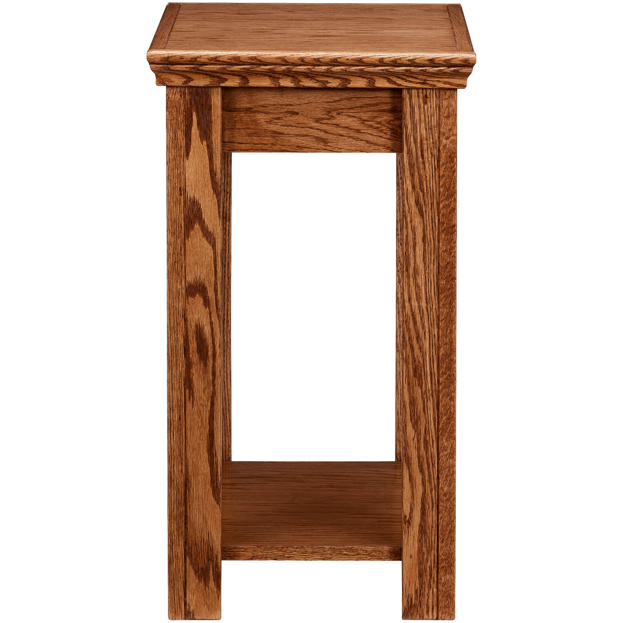 Legends Furniture | Chambers Golden Oak Chairside Table
