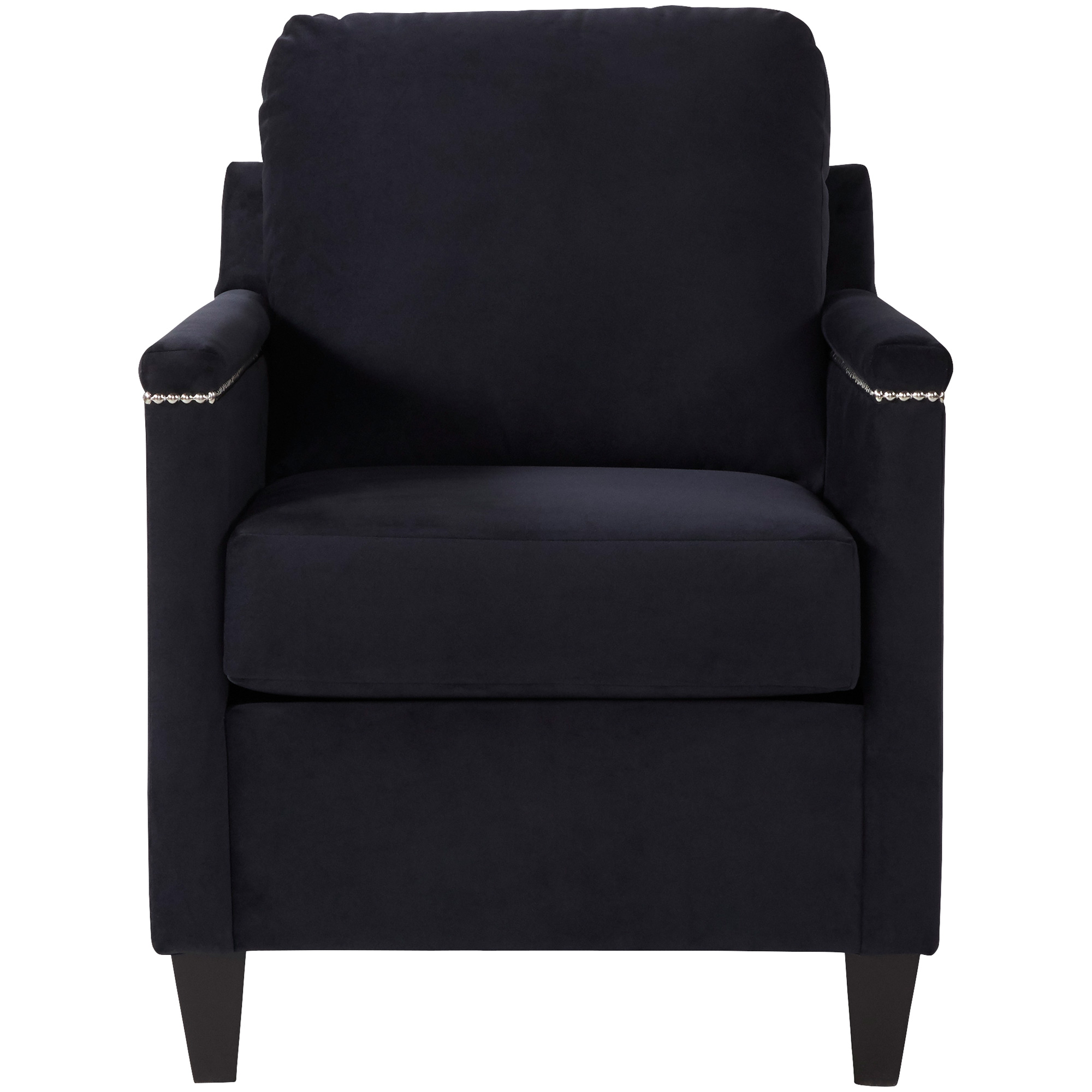 Serta Upholstery By Hughes Furniture | Bling Black Accent Chair