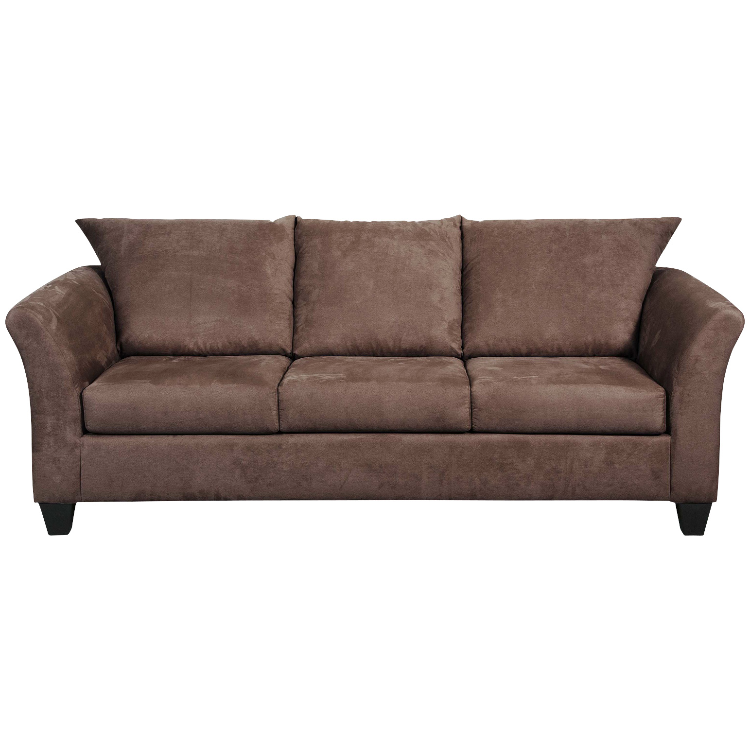 Serta Upholstery By Hughes Furniture | Buster Chocolate Sofa