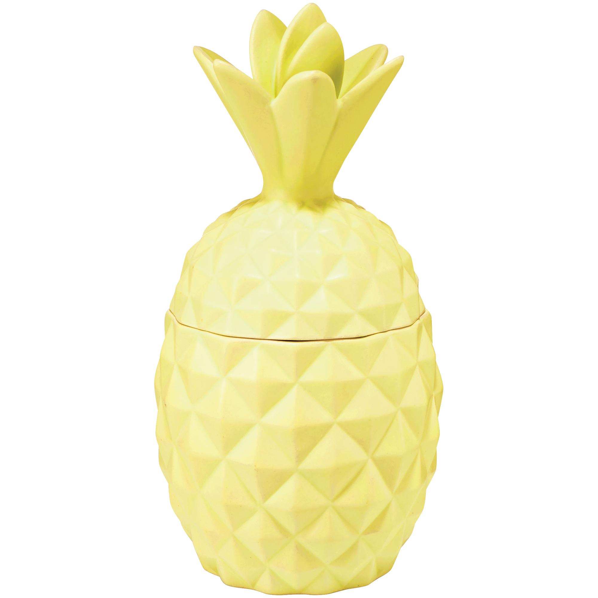 Illume | Pineapple Ceramic Pineapple Cliantro Candle