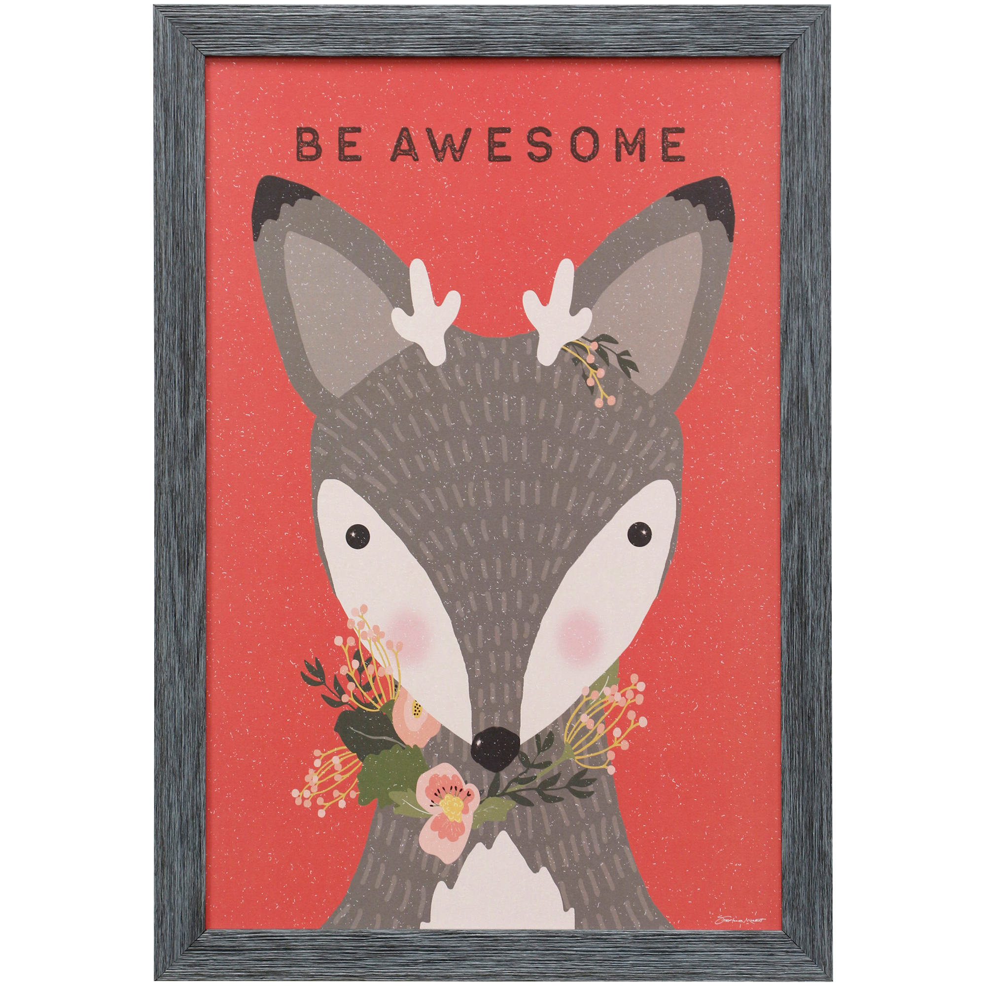 Stylecraft Home Collection | Awesome Deer Framed Art