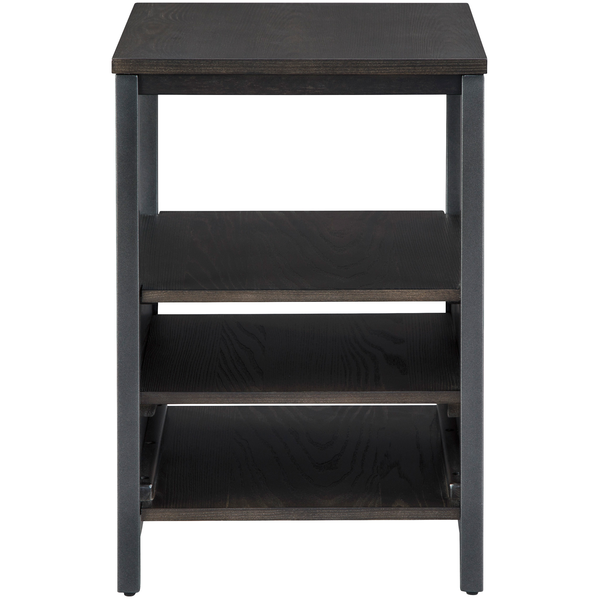 Ashley Furniture | Airdon Bronze Chairside End Table