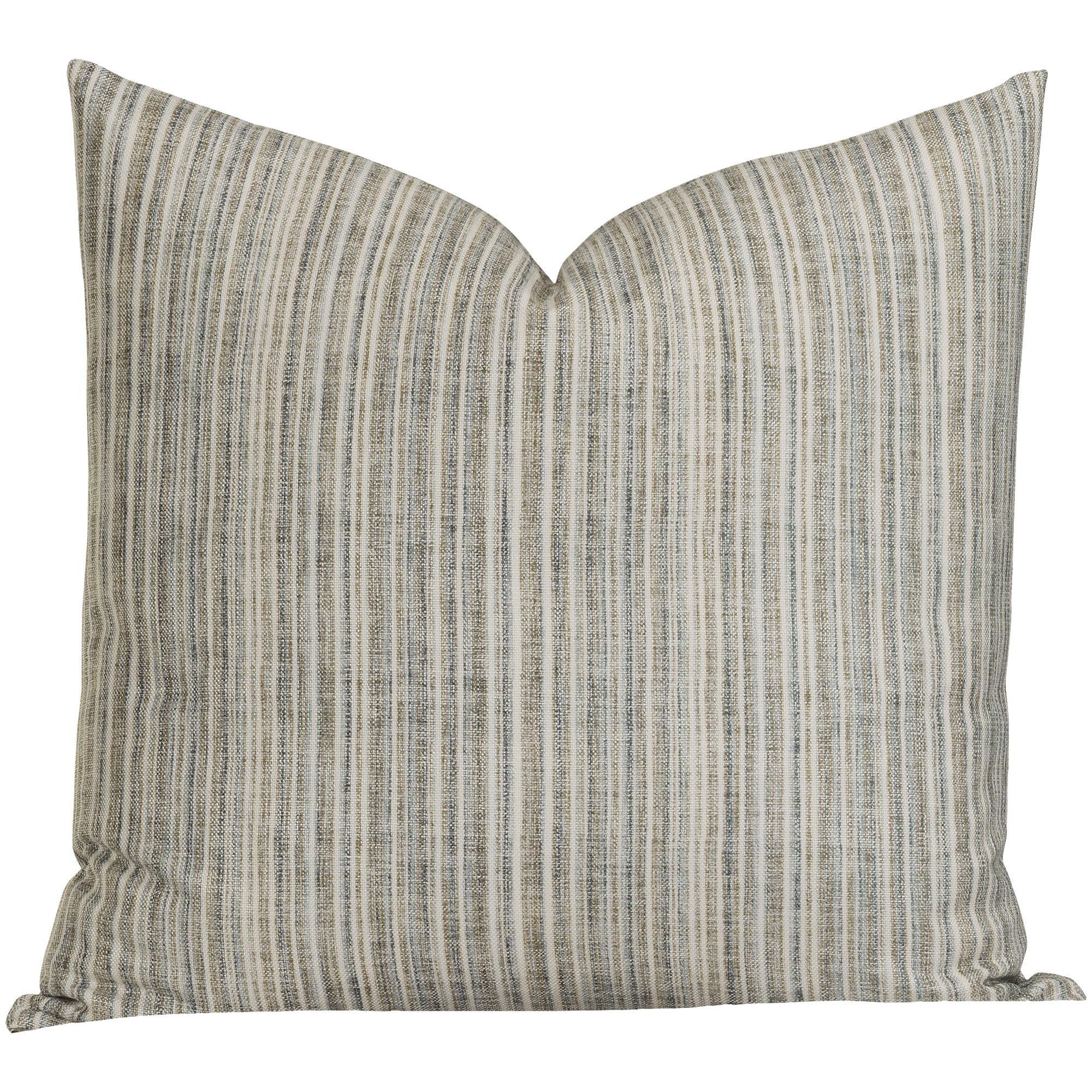 Sis Enterprises | Bungalow Stripe Beige Euro Pillow