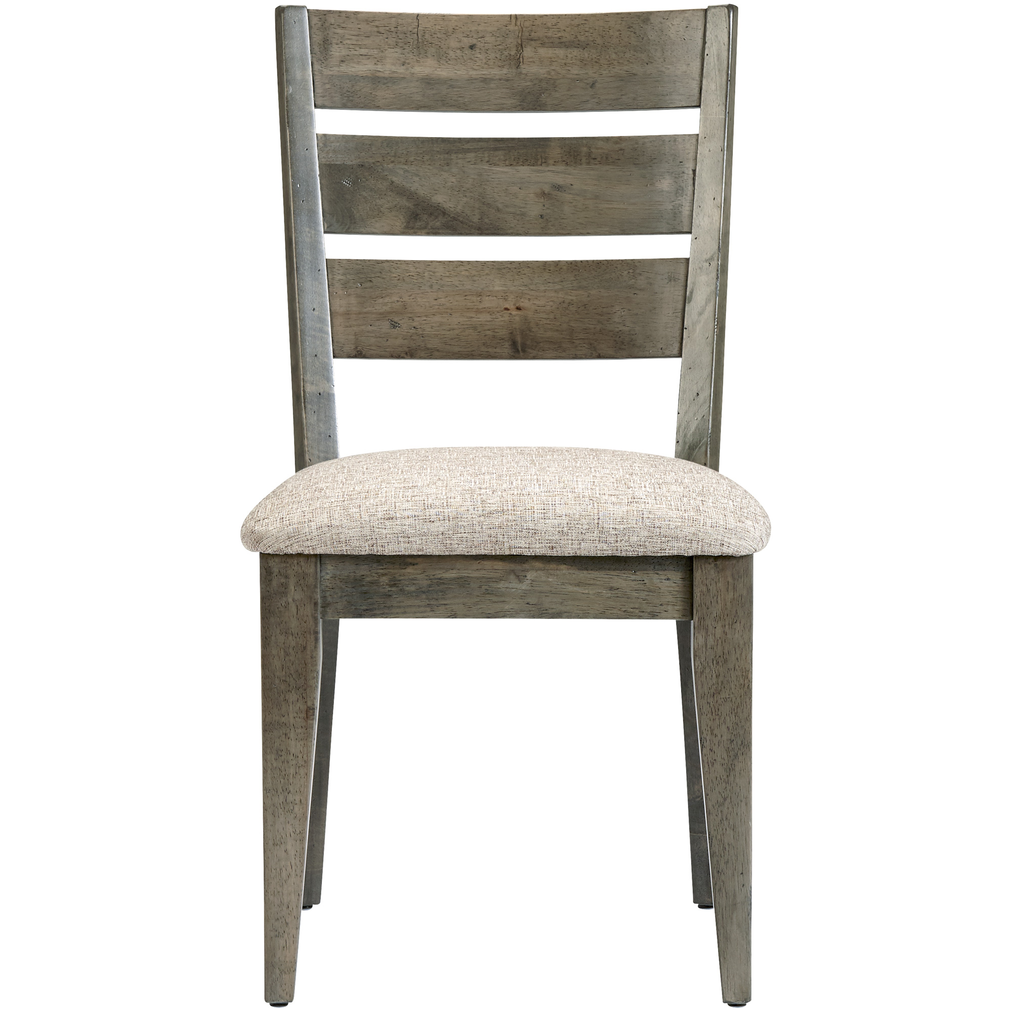 Canadel Furniture | Uptown Mist Gray Ladder Back Side Chair
