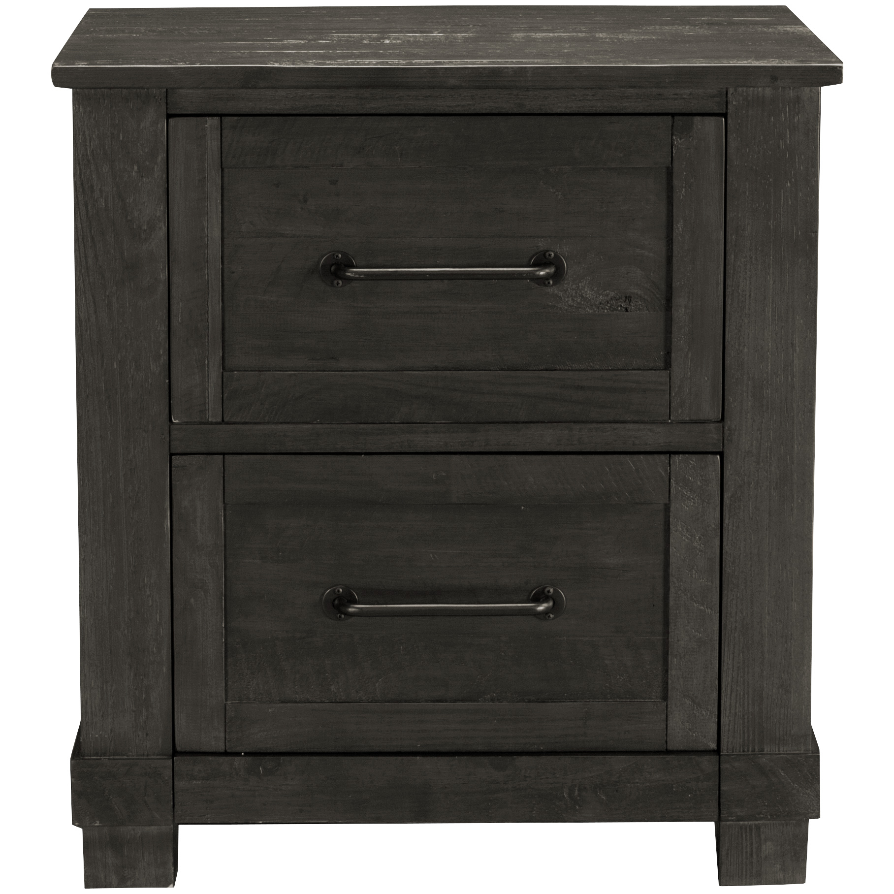 America | Sun Valley Charcoal Nightstand